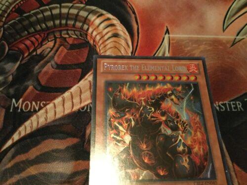 Yugioh-Pyrorex The Elemental Lord-Secret Rare-1st Edition-CBLZ EN040