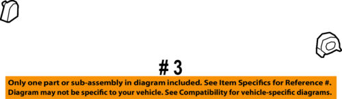 NISSAN OEM 2018 Titan XD Rear Seat Belt-Anchor Cover 87942EZ01B