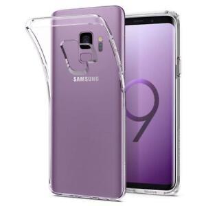 Samsung-Galaxy-S9-Huelle-Schutzhuelle-Bumper-Durchsichtig-Transparent-Case