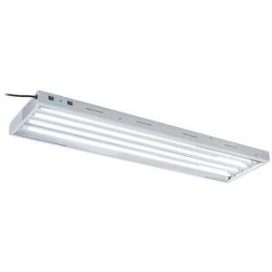 Oppolite 4FT 4-Bulb 54W T5 HO Fluorescent Grow Lights Fixture Lamp Included