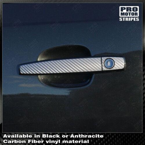 Chevrolet Camaro Carbon Fiber Door Handles Stripes Decals 2010 2011 2012 2013