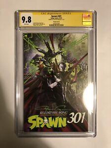 Spawn-301-Clayton-Crain-Cover-E-Variant-CGC-9-8-Signature-Series