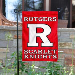 Rutgers University Garden Flag Yard Banner