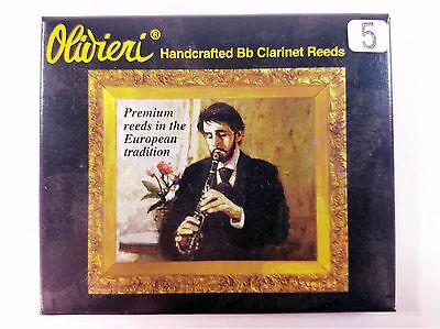 Box Of 5 Fortgeschrittene Technologie üBernehmen Olivieri Elite Klarinettenblätter Stärke 5 Musikinstrumente