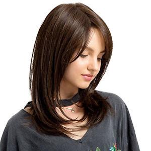 PW-FA-KF-Women-Natural-Long-Straight-Wig-Sideswept-Bangs-Cosplay-Party-Hair