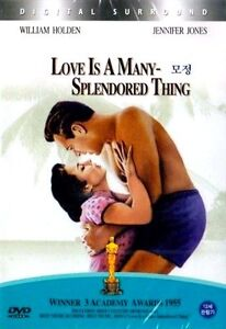 Love-is-a-Many-Splendored-Thing-1955-New-Sealed-DVD-William-Holden
