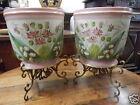 Coppia vasi porcellana francese - Napoleone III - fine '800