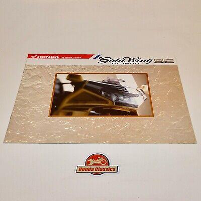 Honda Gl1500 Oro Ala Se 1991 Originale Sales Brochure. Hsb499 Una Vasta Selezione Di Colori E Disegni