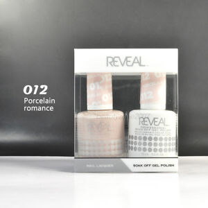 Image Is Loading Reveal Gel Polish Amp Nail Lacquer Matching Duo