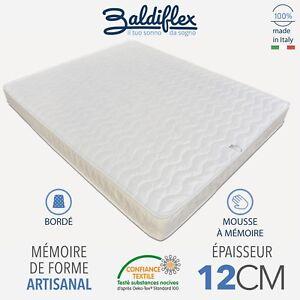 Matelas-034-Easy-Small-Memory-034-lit-simple-Coton-orthopedique-Baldiflex
