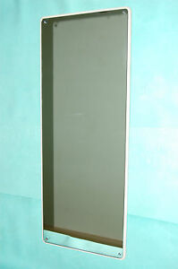 """VINTAGE 50s HEAVY 15KG THICK GLASS FULL LENGTH 48"""" WIDE 19"""