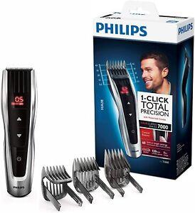 Philips HC7460/15 Cortapelos con Cuchillas de Acero Inoxidable 3 peines-guía