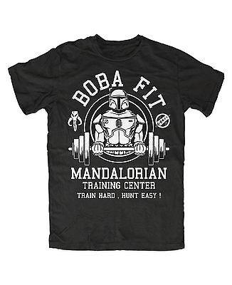 Boba Fit T Shirt Star Wars Fun,Kult,Jedi,Stormtrooper,Boba Fett,Mandalorian,