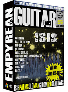 Details about ISIS Band Members PALMS Guitar Tabs CD-R Digital Lessons  Software Windows Mac