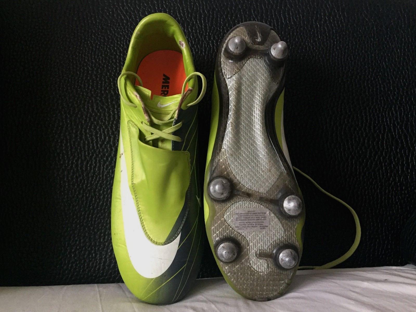 Nike Mercurial Vapor I II III IV V VI SG Botines De Fútbol botas EU45 US10