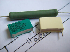 Thorens TD150 TD160 TD165 TD166 Turntable Repair Kit 2 Capacitors 1 Resistor DIY