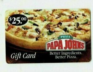 Papa-John-039-s-Pizza-Gift-Card-Old-2006-Restaurant-Food-No-Value-I-Combine