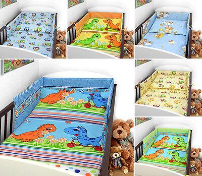 BABY BEDDING SET 120x90 PILLOWCASE DUVET COVER 2PC FIT COT 120x60 SAFARI BEIGE