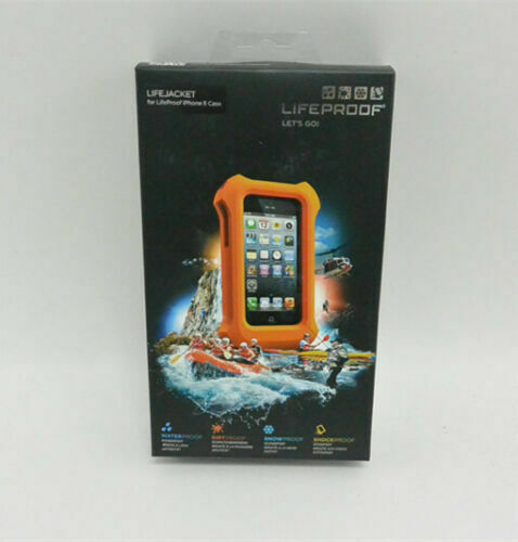 the best attitude 09d3a 12313 LifeProof Lifejacket Float for Apple iPhone 5 & 5s Case Orange Cover