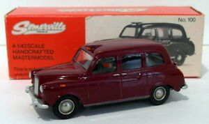 Somerville-Models-1-43-Scale-100-Austin-FX4-Taxi-Maroon