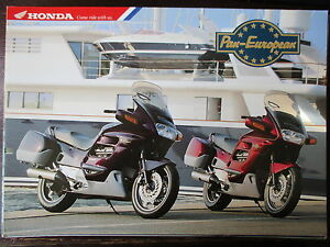 Brochure Catalogue 1995 Moto Honda St 1100 Pan-european