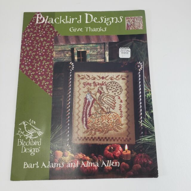 BLACKBIRD DESIGNS Cross Stitch Patterns Pattern Sets Pattern Books YOU CHOOSE!