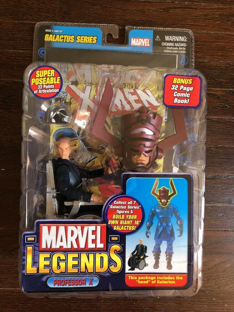 Marvel Legends Professor X Galactus Series Nuovo MOC ToyBiz Figure