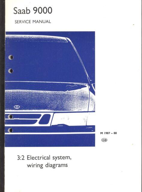 Download 1987 1988 Saab 9032 Electrical System System Diagrams Service Repair Manual Full Quality 360mediagram Deijse Be