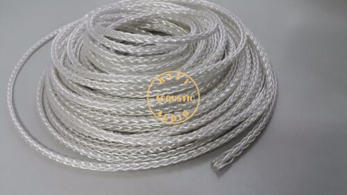 HIFI HF8LS OCC Silver plated Wire 8Core diy Speaker RCA Cable 20Awg