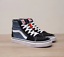 New-Vans-Sk8-Hi-High-top-Canvas-Suede-Black-or-Navy-Blue-Skate-Shoes-Sneakers thumbnail 14