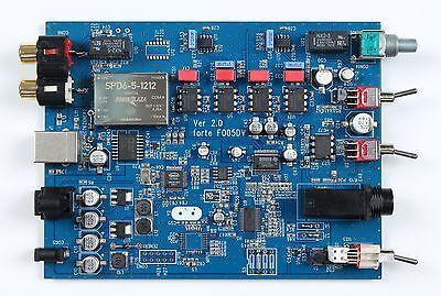 DIY Audio DAC Forte Assembled Audio DAC Board F005DV for Premium Quality F005DAC