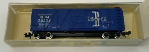 Minitrix-N-Scale-Old-Time-Box-Car-Boston-for-Model-Train-Layout-Display-Austria