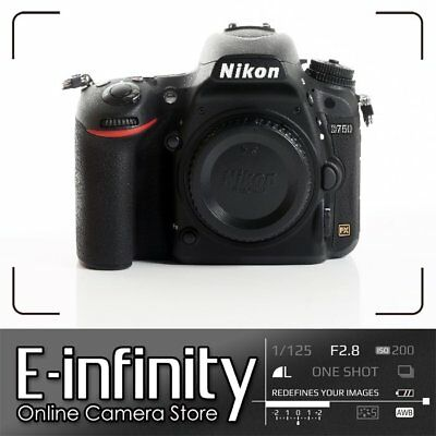 NUEVO Nikon D750 Digital SLR Camera Body Only