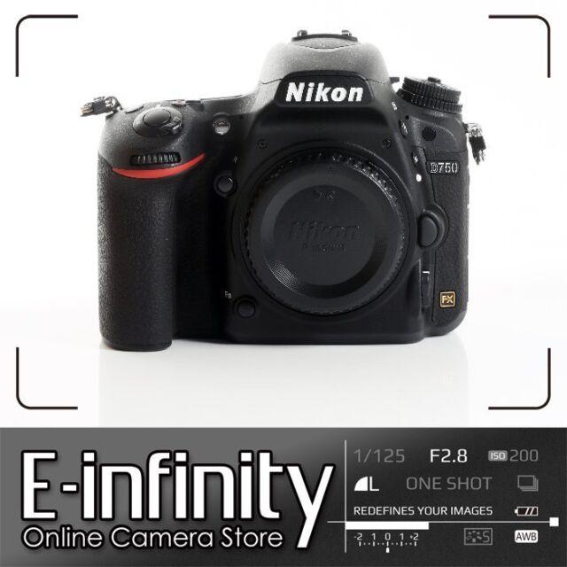 NUEVO Nikon D750 Digital SLR Camera Body Only