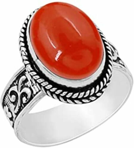 Details about  /Carnelian Ring 925 Sterling Silver Ring Handmade Ring Boho Ring All Size AK-585
