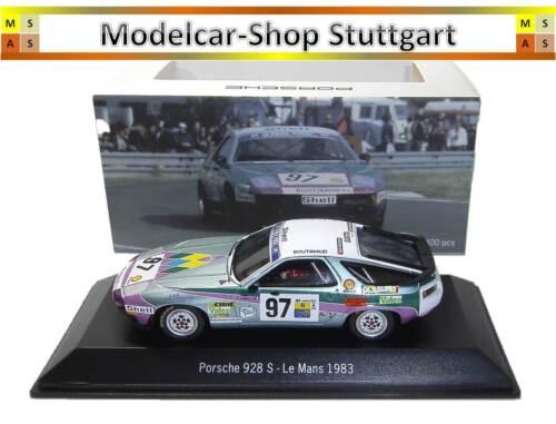 Porsche 928 S #97 Le Mans 1983 Spark 1:43 MAP02020616 fabrikneu