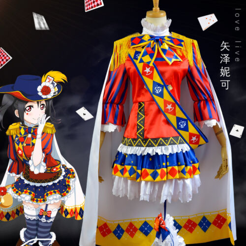 Love Live Eli Ayase Minami Kotori Nico Yazawa Magic Awakening Cosplay Costume