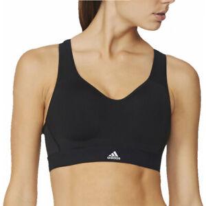 Details about Adidas Supernova X Womens Sports Bra - AX5939 - Black