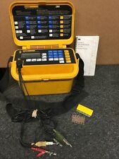 Dynatel 3m 965 Subscriber Loop Analyzer Test Set With Cables