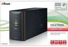 TRUST 17938 Oxxtron 800va UPS di backup della batteria, 3 anno garanzia