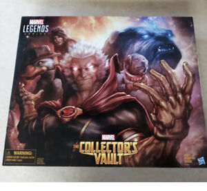 THE COLLECTORS VAULT Marvel LegendS 3.75 SET NIB 2016 LOCKJAW,Cosmo,Moon Boy,HTD