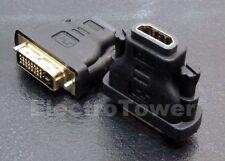 HDMI a DVI adaptador HDMI a DVI adaptador 24+1 pin dorado Full HD 1080p HD TV
