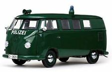 SUNSTAR 5082 VOLKSWAGEN GERMAN POLICE VAN diecast model green Ltd Ed 1956 1:12th