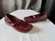chaussures clarks cuir vernis bordeaux pointure 6