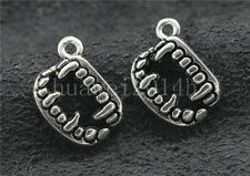 Tibetan silver Exquisite pendant helmet Charms pendant 20x14mm 1.4g