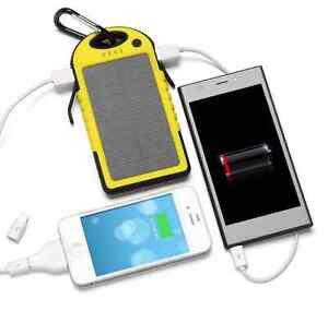 Dual-USB-Banco-De-Energia-Solar-Cargador-movil-5000mAh-portatil-para-smartphones