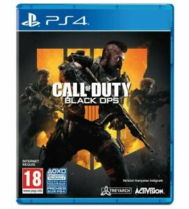 Call-Of-Duty-Black-Ops-4-PS4-Sous-Blister-Version-Francaise-Integrale-Neuf