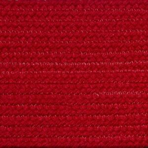Solid Christmas Red Braided Area Rugs By Colonial Rug Many Sizes 113 Ebay