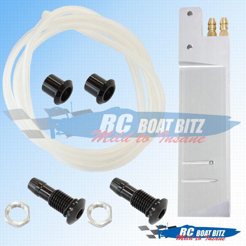 Proboat Zelos 36 Dual outlet rudder upgrade kit PB120K
