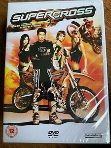 Supercross-DVD-2005-Dirt-Bike-Motorcycle-Biker-Film-Movie-with-Daryl-Hannah-BNIB